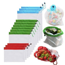 Load image into Gallery viewer, Ecological and Reusable Portable Bag, 12 Pieces.