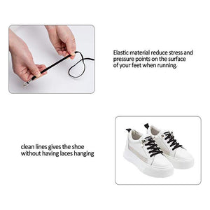Elastic No Tie Quick Shoelaces
