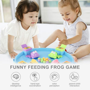 Family Toy- frog eating peas