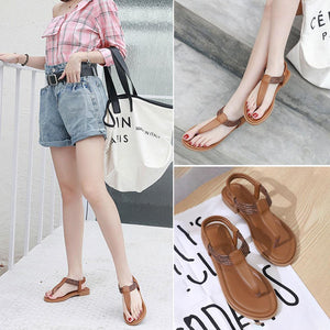 Bohemian Flat Sandals for Women Summer Fashion Comfort Strap