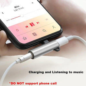 4 in 1 Earphone Lightning Adapter for iPhone ( 2PCS )