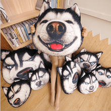 Load image into Gallery viewer, Creative Funny Simulation Husky Pillow
