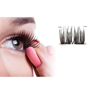 Magnetic False Eyelashes (4 pairs / 8 pieces)