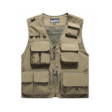Load image into Gallery viewer, Outdoor Lightweight Mesh Fabric Vest with 16 Pockets