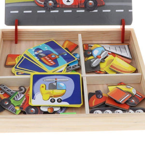 Magnetic puzzle box  education toys