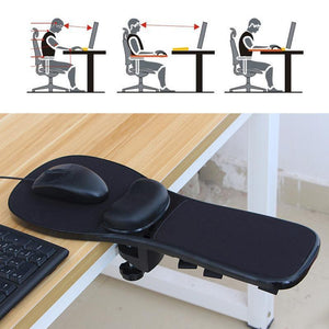 Computer Arm Support Mouse Pad Arm-stand Desk Extender