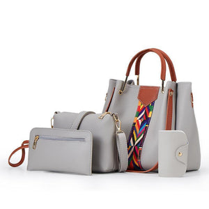 Fashion Shoulder Bag (Four-piece set)