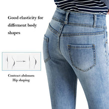 Load image into Gallery viewer, Fashion Stretchy Jeans