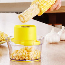 Load image into Gallery viewer, Cob Corn Stripper With Built-In Measuring Cup And Grater