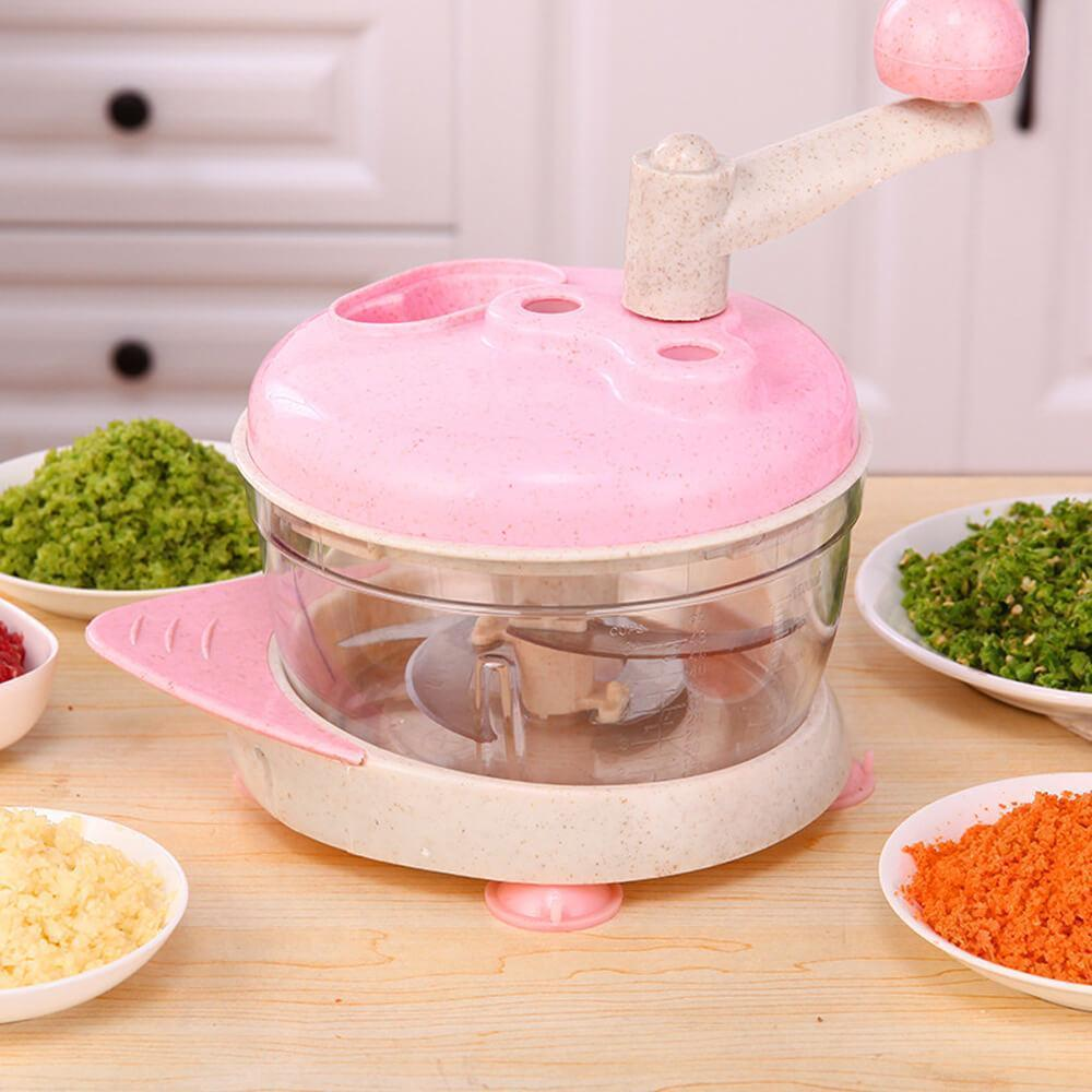 Multifunctional Manual Food Processor Chopper