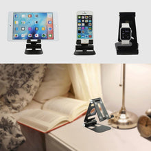 Load image into Gallery viewer, Foldable Storage Stand For Phone, Tablet