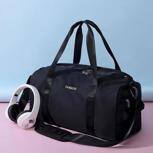 Gym & Travel Duffel Bag with Dry Wet Pocket