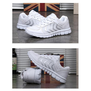 Fashion women's sneakers breathable mesh running shoes