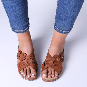 Comfy Wedged Slippers