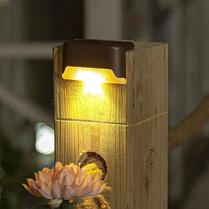 Innovative solar embedded outdoor waterproof light