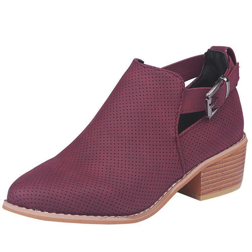 Womens  Fashion Casual Martins Boots