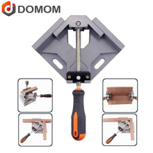 Load image into Gallery viewer, DOMOM 90 Degree Right Angle Clamp Woodworking Adjustable Bench Vise Tool