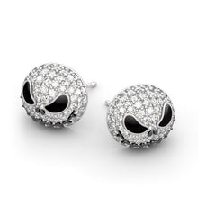 Load image into Gallery viewer, JACK SKULL METAL SKULL EARRINGS