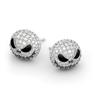 JACK SKULL METAL SKULL EARRINGS