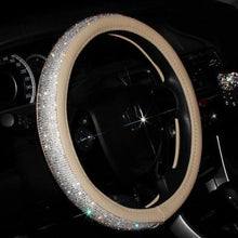 Load image into Gallery viewer, CRYSTAL STEERING WHEEL COVER