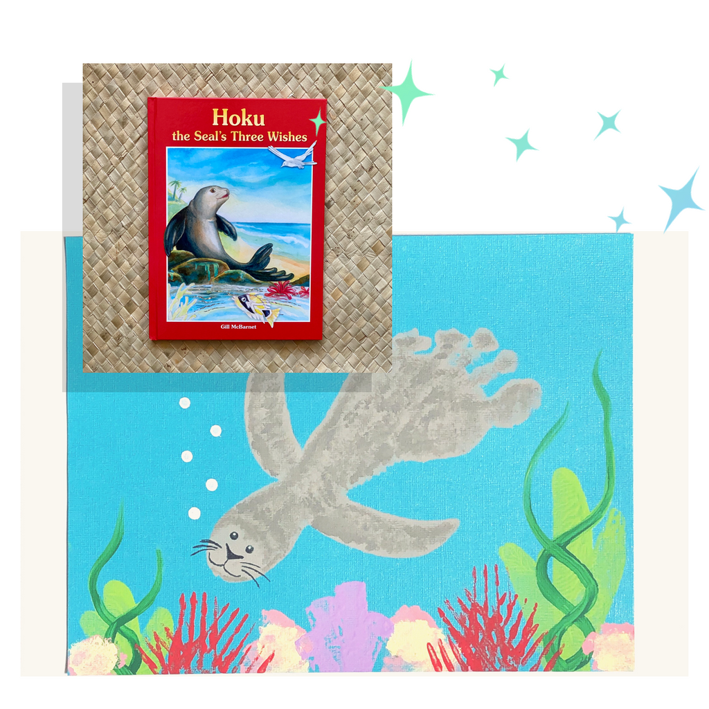 Hoku the Seal's Three Wishes: A Seal Craft by @Perhaps_This_Is