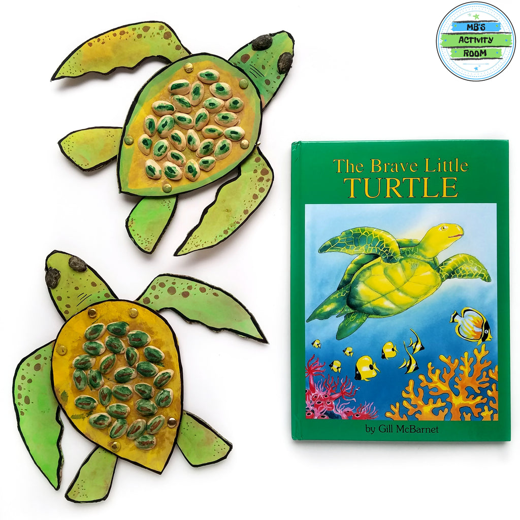 The Brave Little Turtle: A Recycled Craft by @mbsactivityroom