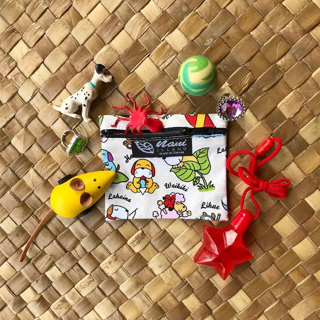 Doggie in Paradise Pouch - Hawaiian Children's Books