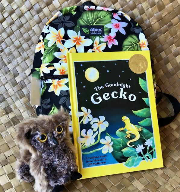 Little Owl Gift Set - Hawaiian Children's Books