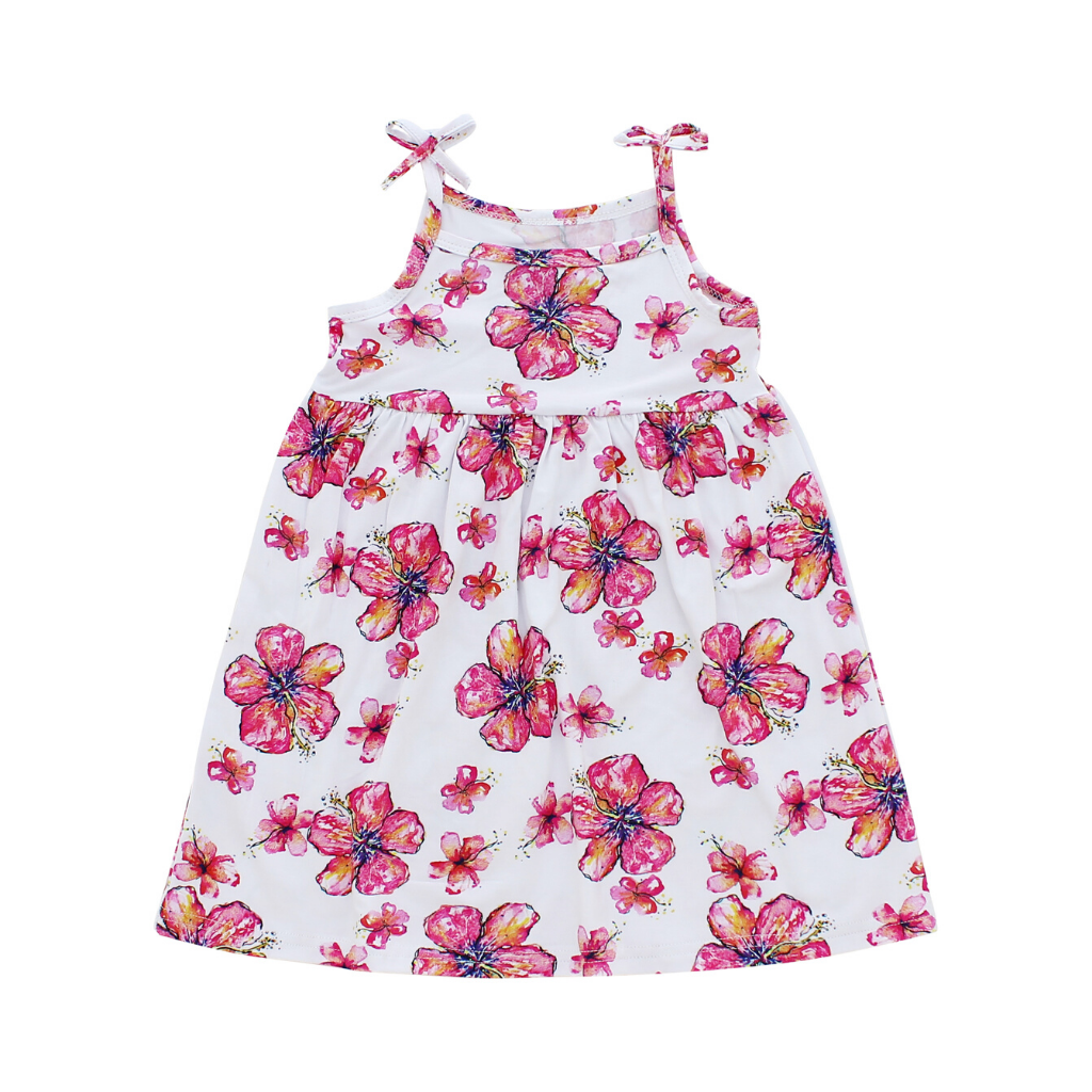 Hibiscus Toddler Dress - Hawaiian Children's Books