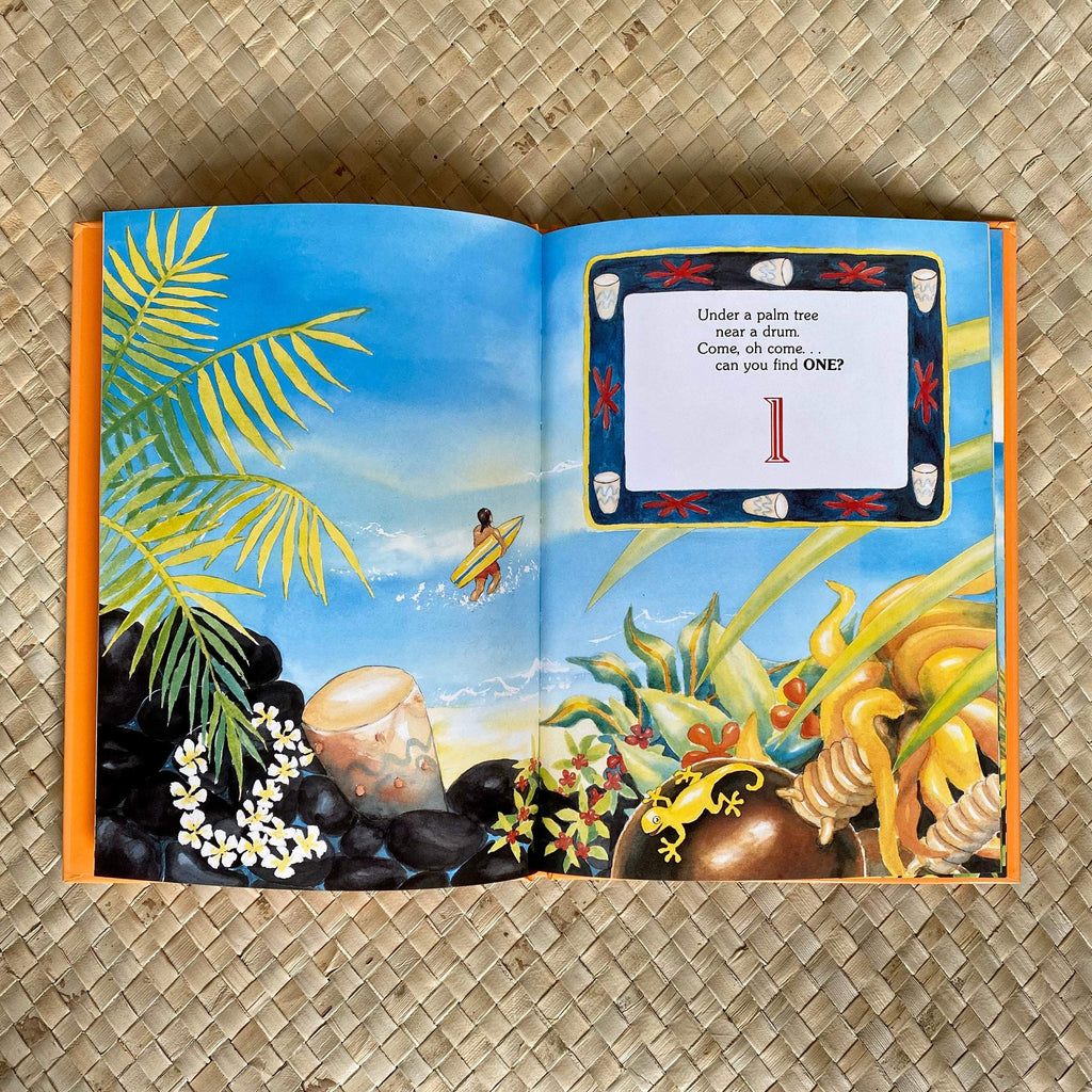 Gecko Hide and Seek - Hawaiian Children's Books