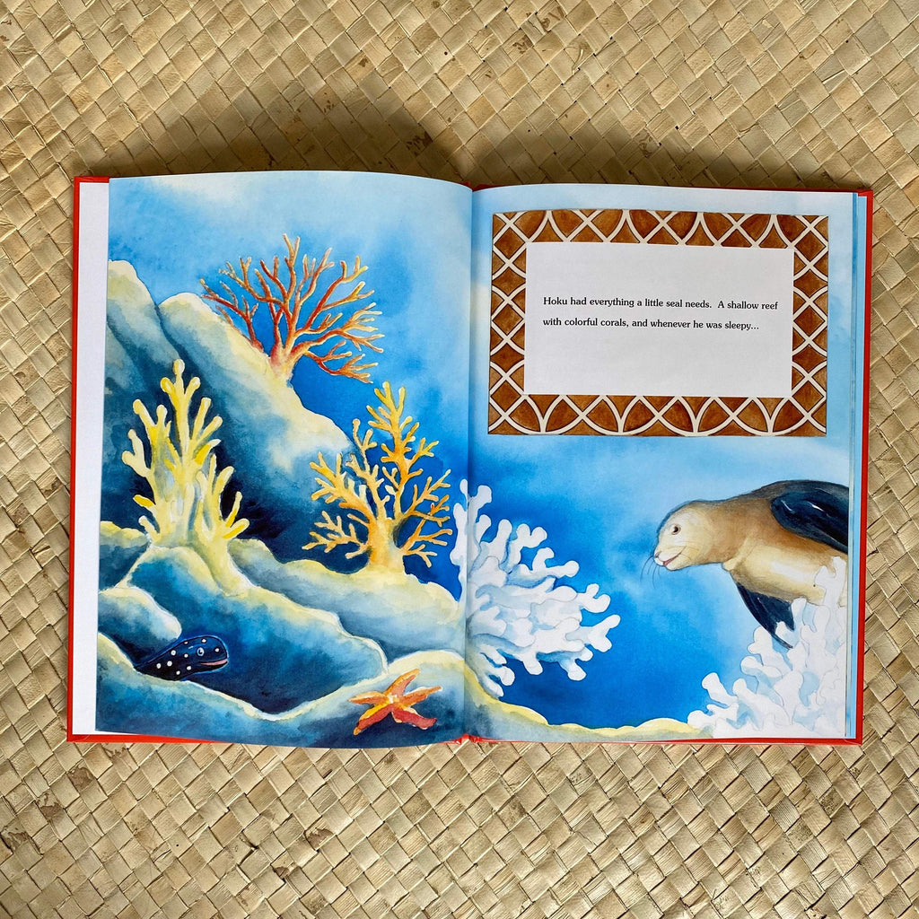 Hoku the Seal's Three Wishes - Hawaiian Children's Books