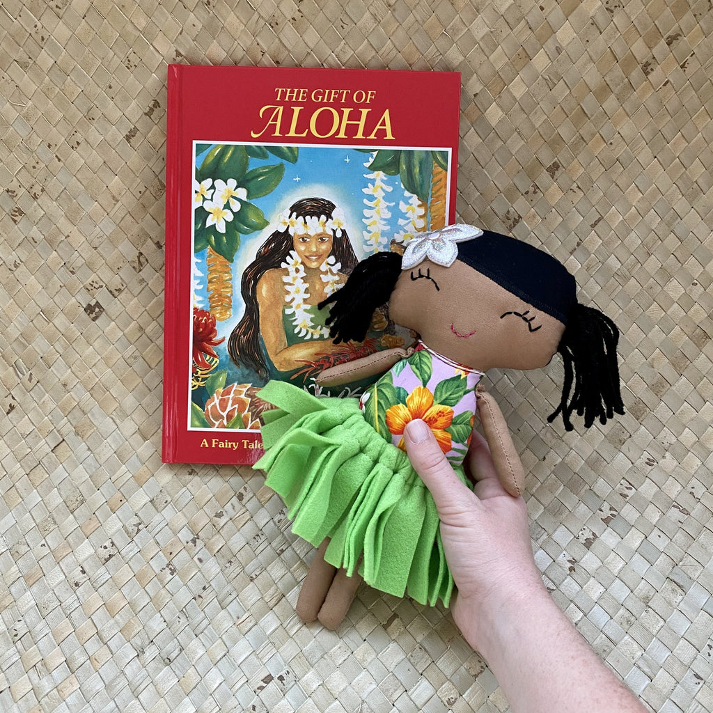 Hula Girl Gift Set - Hawaiian Children's Books