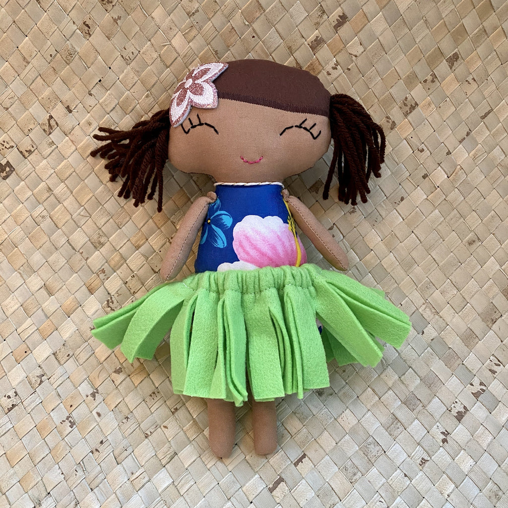 Handmade Hula Doll - Hawaiian Children's Books
