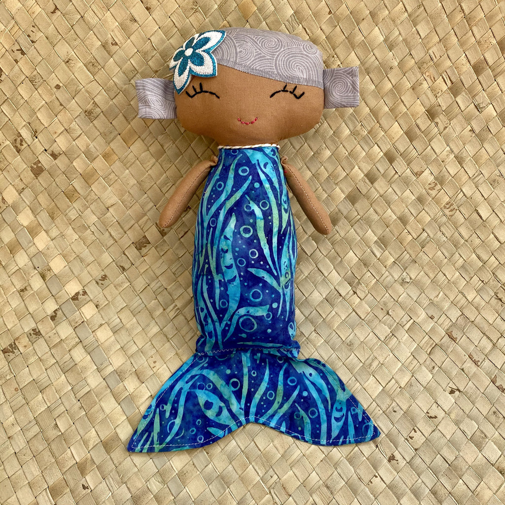 Handmade Mermaid Doll - Hawaiian Children's Books