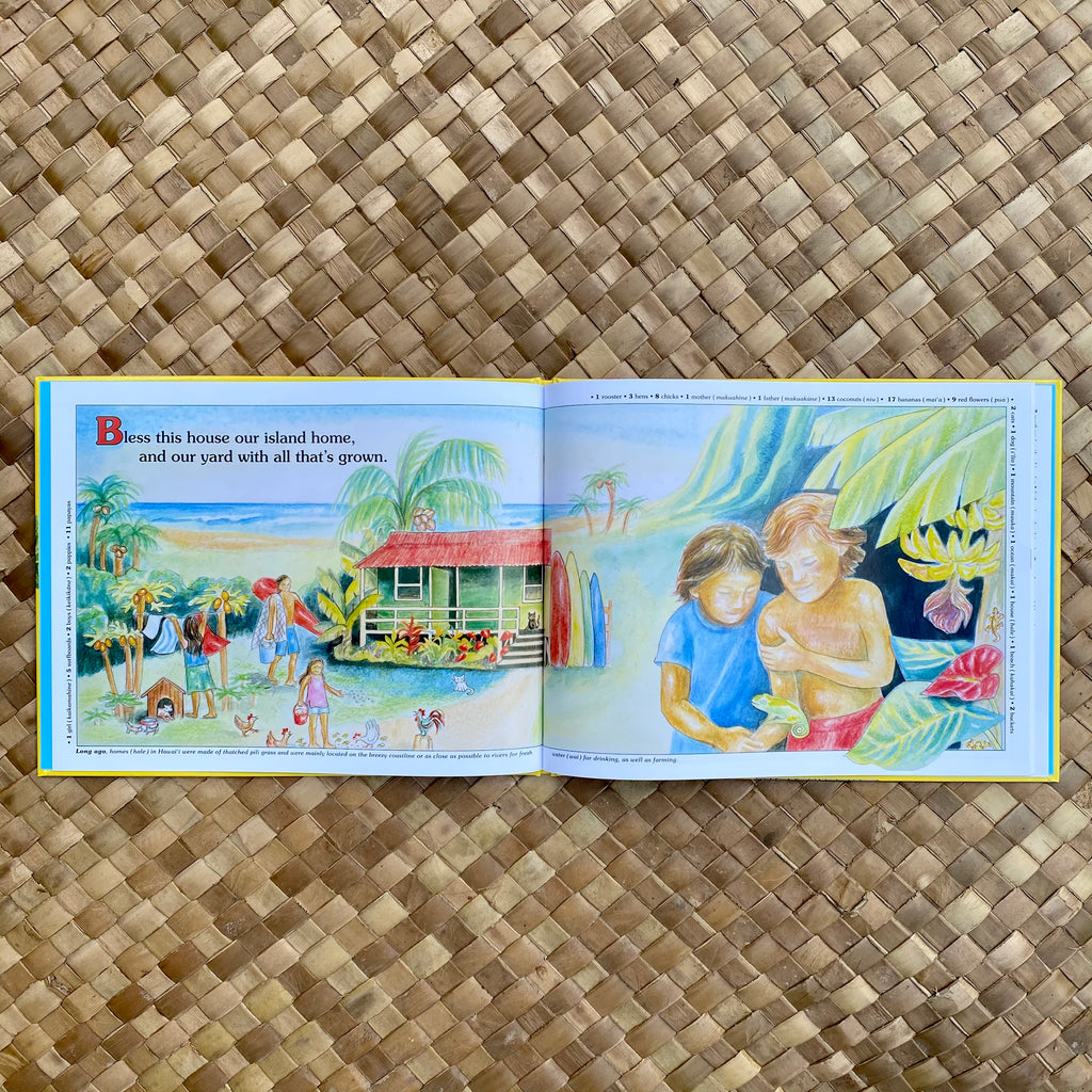 Our Island Home: Counting our Blessings in Hawai'i - Hawaiian Children's Books