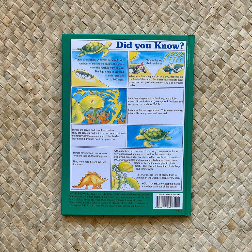 The Brave Little Turtle - Hawaiian Children's Books