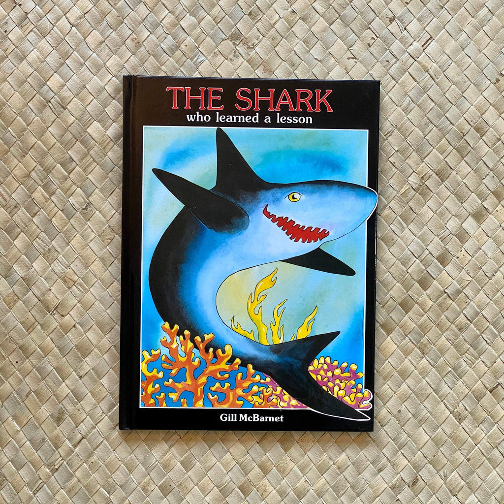 The Shark Who Learned a Lesson - Hawaiian Children's Books