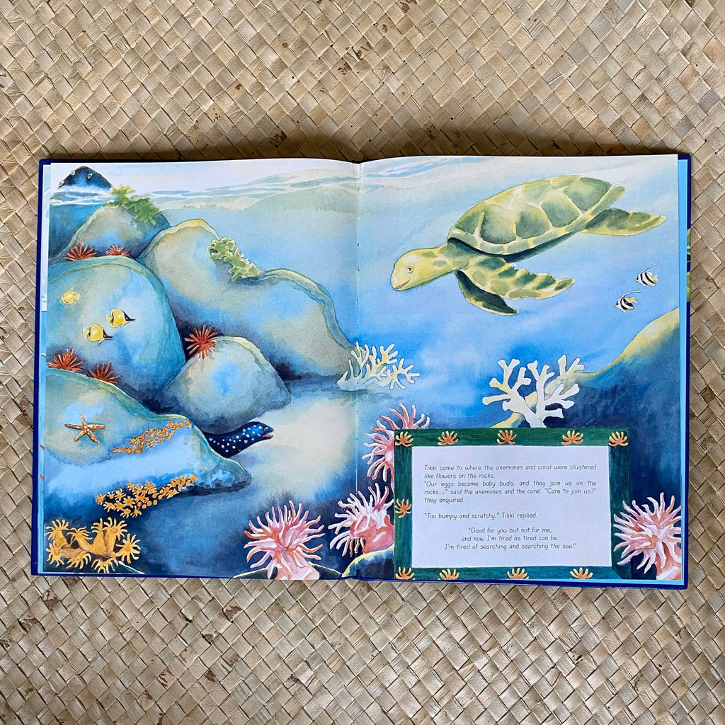 Tikki Turtle's Quest - Hawaiian Children's Books