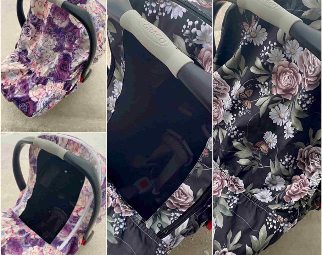 Gliz Design Floral baby car seat covers