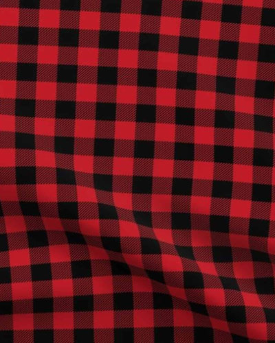 Buffalo Plaid Red - Gliz Design
