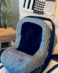 Custom Order - Baby Car Seat Cover - Gliz Design