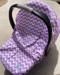 Lilac Chevron - Gliz Design