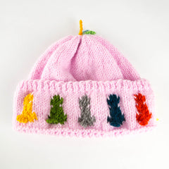 Pastel Pink Hat - Youth and Toddler