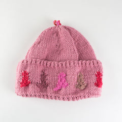 Dusty Rose Hat - Adult