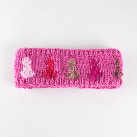 Berry Pink Headband - Adult