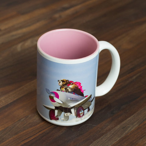 15oz ceramic mug- Bulldog