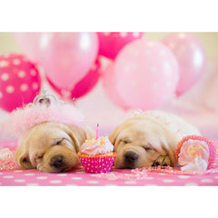 Birthday - Yellow Labradors
