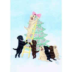 Holiday- Naomi Ochiai (Happy Labradors) Exclusive Design