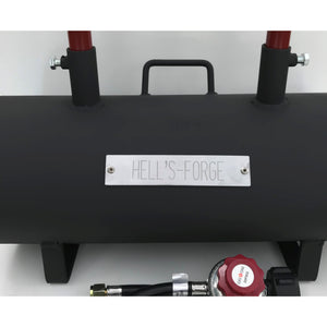 Portable Propane Forge Double Burner - Hells Forge USA