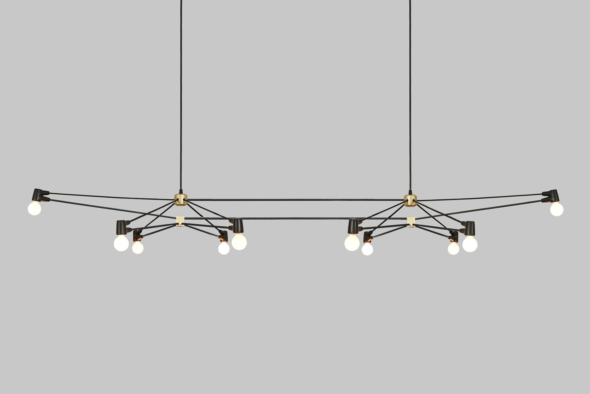 Double Cord Chandelier
